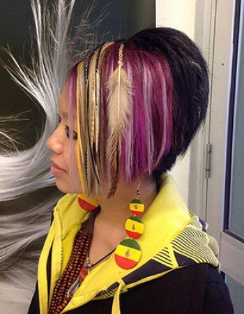 HAIR WRAPS & FEATHERS