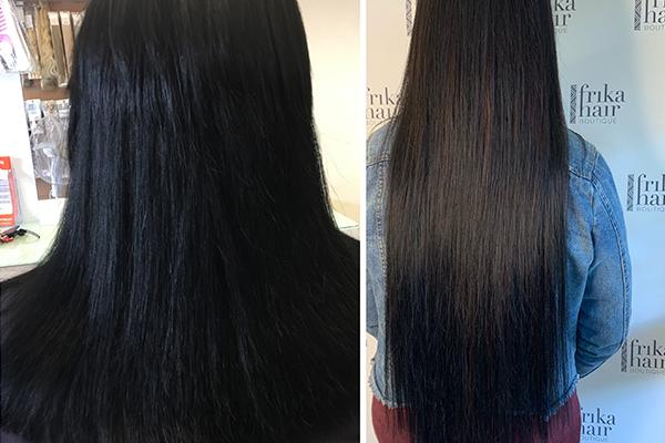 Microbeading hair