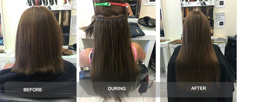 Micro Bead Hair Extensions In Melbourne Frika Hair Boutique