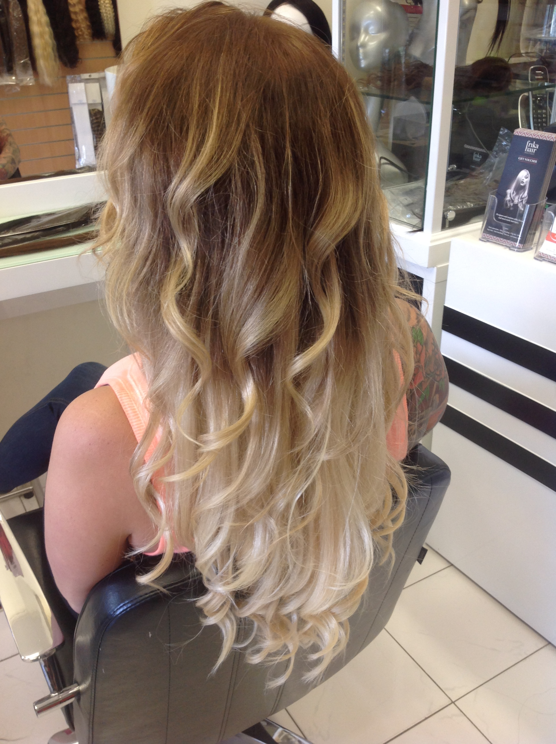 Microlink Weft Frika Hair Boutique